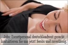 Escortpersonal deutschlandweit gesucht
